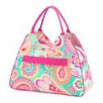 Beach Bag, Summer Paisley