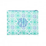 Zip Pouch, Sea Tile