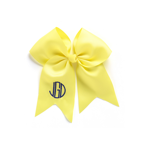 Hair Bow, Yellow