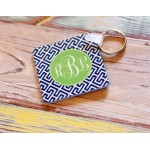Monogram Key Chain Puzzle