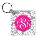 Monogram Key Chain Bloom