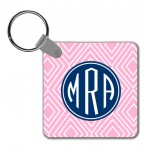 Monogram Key Chain Funky Diamond