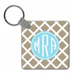 Monogram Key Chain Lattice