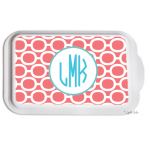 Monogrammed Casserole Serving Dish - Links