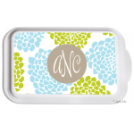Monogrammed Casserole Serving Dish - Bloom