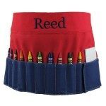 Red and Blue Crayon Toolbelt