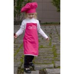 Hot Pink Chef Apron & Hat