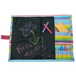 Striped Chalkboard Placemat