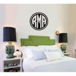 Giant Wall Monogram Reverse Double Circle