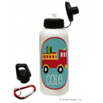 Firetruck Water Bottle