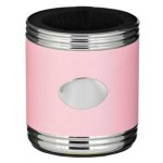 Taza Pink & Stainless Steel Can Holder