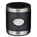 Taza Black & Stainless Steel Can Holder