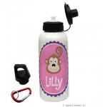 Monkey Girl Water Bottle