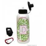Green Coral Water Bottle