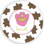Plate - Cowgirl