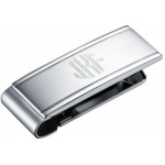Tribute Brushed Stainless Steel Money Clip
