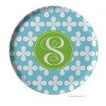 Cloverleaf Personalized Melamine Plate