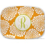 Personalized Melamine Platter Bloom