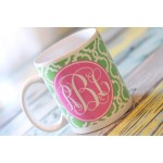 Chain Monogram Coffee Mug