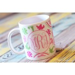 Suzanni Trio Monogram Coffee Mug