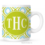 Happy Duo Monogram Coffee Mug