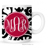 Suzanni Monogram Coffee Mug