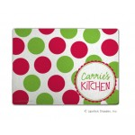 Christmas dots Cutting Board