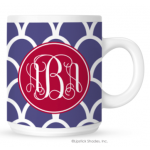 Indonesia Monogram Coffee Mug
