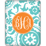 Monogrammed Suzanni Tablet Skin- Customize for your iPad, Kindle Fire, Nook & more.