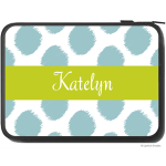 Preppy Ikat Monogram Laptop Sleeve