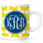 Cloverleaf Monogram Coffee Mug