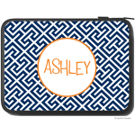 Puzzle Monogram Laptop Sleeve