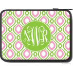 Happy Duo Monogram Laptop Sleeve