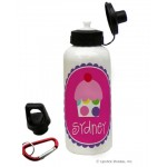 Cupcake Girl Water Bottle