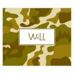 Camouflage Personalized Mousepad