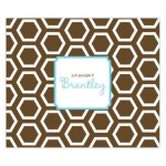 Chocolate Honeycomb Personalized Mousepad
