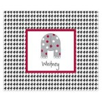 Bye Bye Elephant Personalized Mousepad
