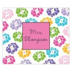 Funky Flowers Personalized Mousepad