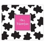 Pink Cow Personalized Mousepad