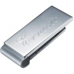 Denzel Plain Stainless Steel Money Clip