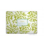 Lime Coral Personalized Cutting Board