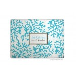 Blue Coral Personalized Cutting Board
