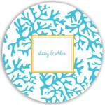 Plate - Blue Coral