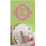 Giant Wall Monogram Curly Frame
