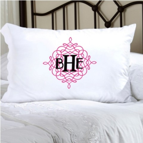 Personalized Felicity Wistful Monogram Pillow Case